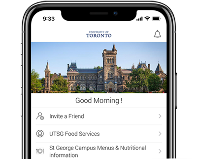 The UofT mobile order app